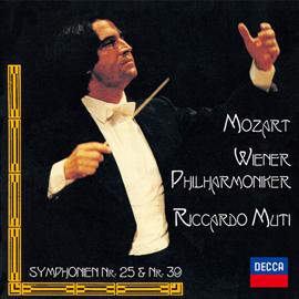 リッカルド・ムーティ - モーツァルト:交響曲第39番、第25番