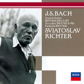 スヴャトスラフ・リヒテル - バッハ:フランス組曲第2番・第4番・第6番、他