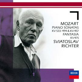 スヴャトスラフ・リヒテル - モーツァルト:ピアノ・ソナタ第18番・第14番、他