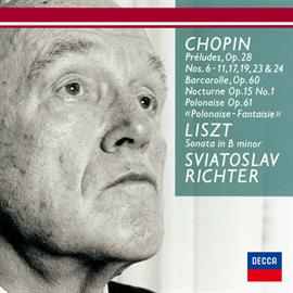 スヴャトスラフ・リヒテル - ショパン:前奏曲集、舟歌、リスト:ロ短調ソナタ