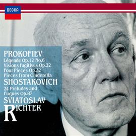 スヴャトスラフ・リヒテル - プロコフィエフ:束の間の幻想、他