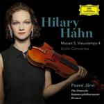 モーツァルト:ヴァイオリン協奏曲第5番、ヴュータン:ヴァイオリン協奏曲第4番