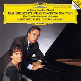 ピリス&アバド - モーツァルト:ピアノ協奏曲第17・21番