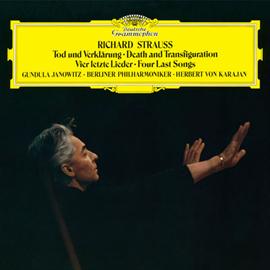 ヘルベルト・フォン・カラヤン - R.シュトラウス:交響曲《死と変容》、4つの最後の歌