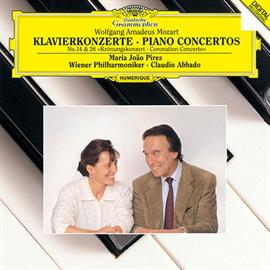 マリア・ジョアン・ピリス - モーツァルト:ピアノ協奏曲第14番・第26番《戴冠式》