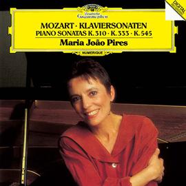 マリア・ジョアン・ピリス - モーツァルト:ピアノ・ソナタ第8番・13番・15番
