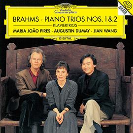 マリア・ジョアン・ピリス - ブラームス:ピアノ三重奏曲第1番&第2番