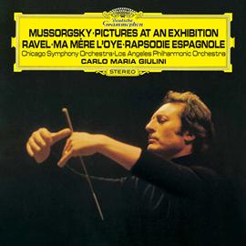カルロ・マリア・ジュリーニ - ムソルグスキー:組曲《展覧会の絵》|ラヴェル:組曲《マ・メール・ロワ》、スペイン狂詩曲