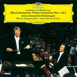 カルロ・マリア・ジュリーニ - ベートーヴェン:ピアノ協奏曲第1番&第3番