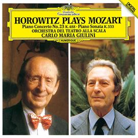 カルロ・マリア・ジュリーニ - モーツァルト:ピアノ協奏曲第23番、ピアノ・ソナタ第13番
