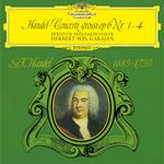 ヘルベルト・フォン・カラヤン - ヘンデル:合奏協奏曲集第1番-第4番