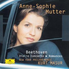 アンネ=ゾフィー・ムター - ベートーヴェン:ヴァイオリン協奏曲、他