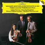 モーツァルト:ヴァイオリン協奏曲第5番《トルコ風》、協奏交響曲 K.364