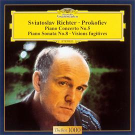 スヴャトスラフ・リヒテル - プロコフィエフ:ピアノ協奏曲第5番、ソナタ第8番、他