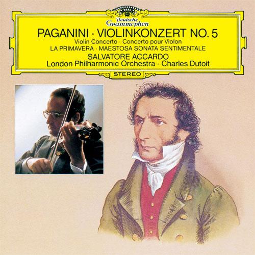 パガニーニ:ヴァイオリン協奏曲...