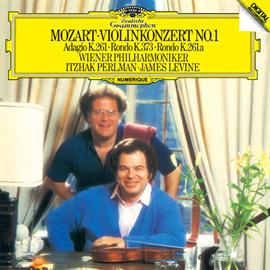イツァーク・パールマン - モーツァルト:ヴァイオリン協奏曲第1番、他