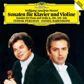 イツァーク・パールマン - モーツァルト:ヴァイオリン・ソナタ第24番・第29番・第30番