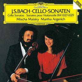 マルタ・アルゲリッチ - バッハ:チェロ・ソナタ第1番~第3番