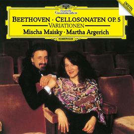 マルタ・アルゲリッチ - ベートーヴェン:チェロ・ソナタ第1番・第2番、他