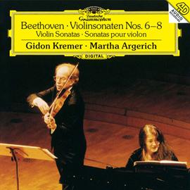 マルタ・アルゲリッチ - ベートーヴェン:ヴァイオリン・ソナタ第6番~第8番