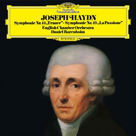 ダニエル・バレンボイム - ハイドン:交響曲第44番《悲しみ》・第49番《ラ・パッシオーネ》