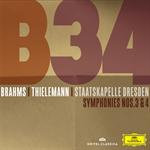 クリスティアン・ティーレマン - ブラームス:交響曲第3番、第4番