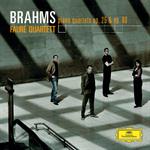 フォーレ四重奏団 - ブラームス:ピアノ四重奏曲第1番・第3番