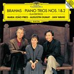 マリア・ジョアン・ピリス - ブラームス:ピアノ三重奏曲第1番・第2番