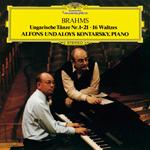 アロイス&アルフォンス・コンタルスキー - ブラームス:ハンガリー舞曲集(全曲)、16のワルツ