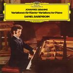 ダニエル・バレンボイム - ブラームス:主題と変奏曲、シューマンの主題による変奏曲、ヘンデルの主題による変奏曲とフーガ