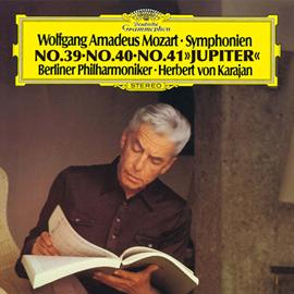 ヘルベルト・フォン・カラヤン - モーツァルト:後期3大交響曲~第39番・第40番・第41番《ジュピター》
