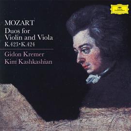 ギドン・クレーメル - モーツァルト:二重奏曲集