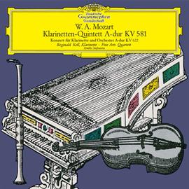 レジナルド・ケル - モーツァルト:クラリネット協奏曲、クラリネット五重奏曲