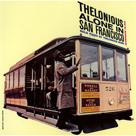 セロニアス・モンク - アローン・イン・サンフランシスコ+1