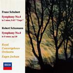 シューベルト&シューマン:交響曲第4番
