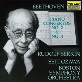 小澤征爾 - ベートーヴェン:ピアノ協奏曲第2番・第4番