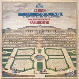カール・リヒター - J.S.バッハ:ブランデンブルク協奏曲第4番~第6番 BWV1049-1051