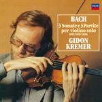 ギドン・クレーメル - J.S.バッハ:無伴奏ヴァイオリンのためのソナタとパルティータ 全曲