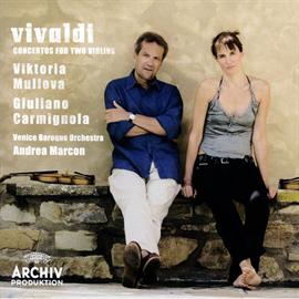 ジュリアーノ・カルミニョーラ - ヴィヴァルディ:2つのヴァイオリンのための協奏曲集