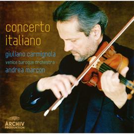 ジュリアーノ・カルミニョーラ - イタリア協奏曲集