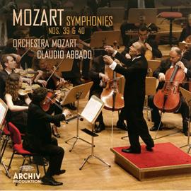 クラウディオ・アバド - モーツァルト:交響曲第39番&第40番