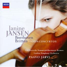 ジャニーヌ・ヤンセン - ベートーヴェン&ブリテン:ヴァイオリン協奏曲