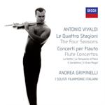 アンドレア・グリミネッリ - ヴィヴァルディ:ヴァイオリン協奏曲集《四季》(フルート版) 他