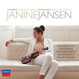 ジャニーヌ・ヤンセン - シェーンベルク:浄夜/シューベルト:弦楽五重奏曲ハ長調