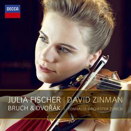ユリア・フィッシャー - ドヴォルザーク&ブルッフ:ヴァイオリン協奏曲集