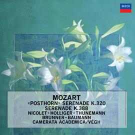 ハインツ・ホリガー - モーツァルト:セレナード第9番《ポストホルン》・第12番《ナハトムジーク》