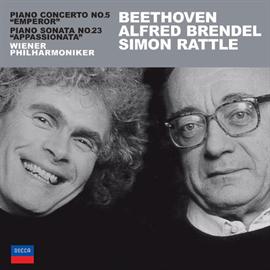 アルフレッド・ブレンデル - ベートーヴェン:ピアノ協奏曲第5番《皇帝》/《熱情ソナタ》