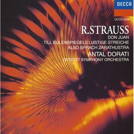 アンタル・ドラティ - R.シュトラウス:交響詩《ツァラトゥストラはかく語りき》他●ドラティ