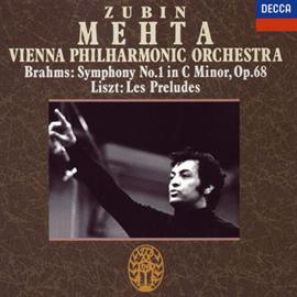 ズービン・メータ - ブラ-ムス:交響曲第1番/リスト:交響詩「前奏曲」