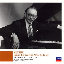 サー・クリフォード・カーゾン - モーツァルト:ピアノ協奏曲第23番&第27番
